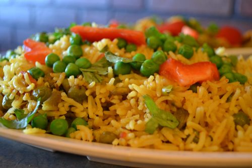 Vegetable Biryani, SHAH Restaurant